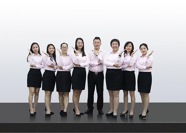 洗护研发团队:现有售后人员十多名,保证及时、用心、负责任地回复每个客户的需求